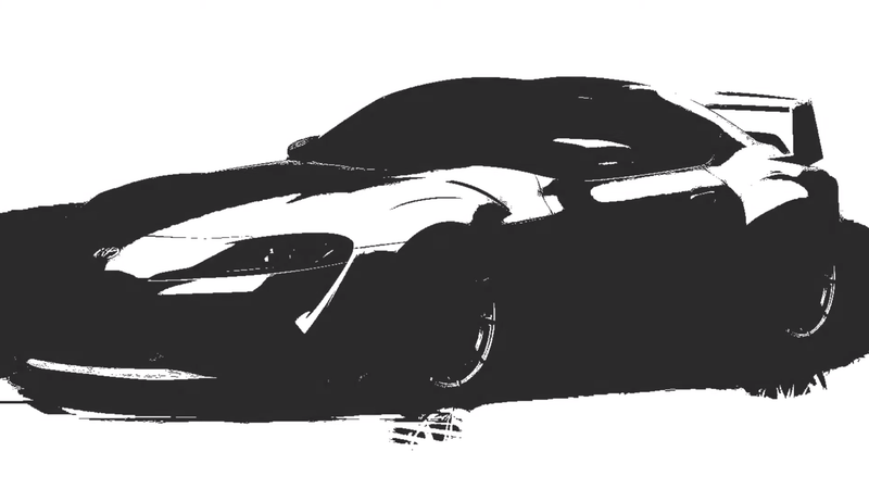 Illustration for article titled Toyota Racing Development Will Debut Supra 3000GT Concept, Massive Wing Next Month
