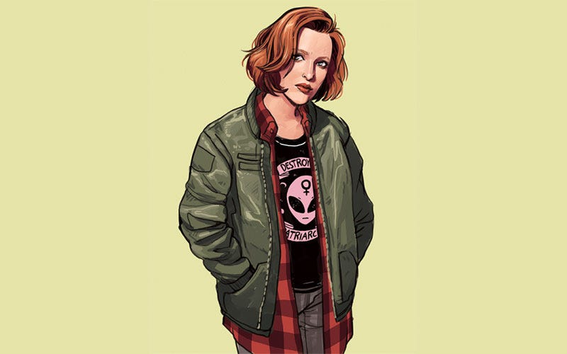 Illustration for article titled Scully Always Was A Believer