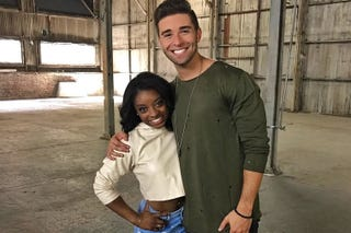Simone Biles and Jake MillerInstagram
