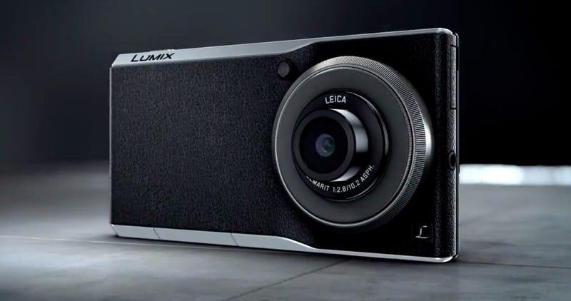 Illustration for article titled Panasonic Lumix CM1: una cámara Android con un sensor espectacular