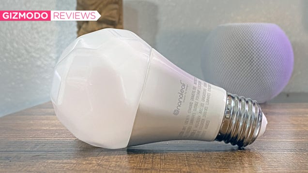 Nanoleaf s New Smart Bulb Is the One to Beat for HomePod Mini Owners