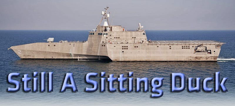 Illustration for article titled Pentagon Decides To Build An Even More Confused Littoral Combat Ship