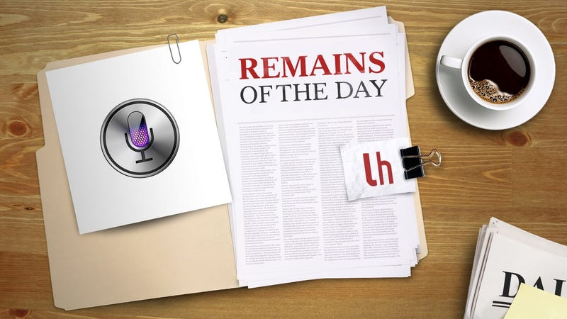 Illustration for article titled Remains of the Day: Siri Reportedly Coming to Mac Later This Year