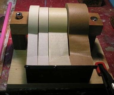 Illustration for article titled Make Your Own Easy-Dispense Tape Holder