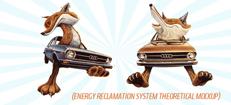 Illustration for article titled Audi May Be Planning To Capture Energy From Suspension Travel