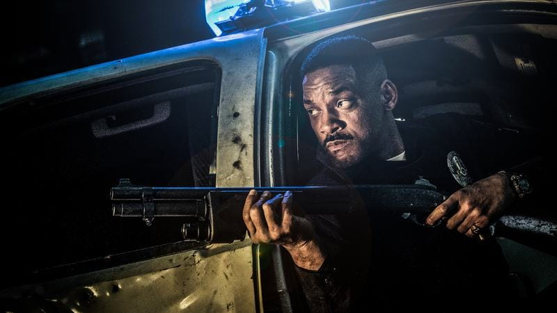 Will Smith in Bright. (Photo: Scott Garfield / Getty Images)