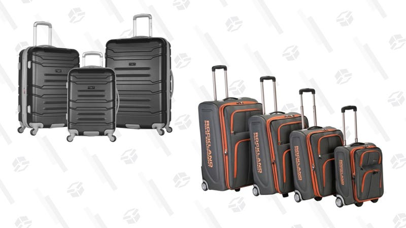 75% Off Select Luggage Sets | Home Depot