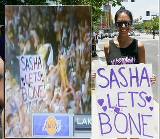 Illustration for article titled Potentially Slutty Star Of Lakers Parade Revealed