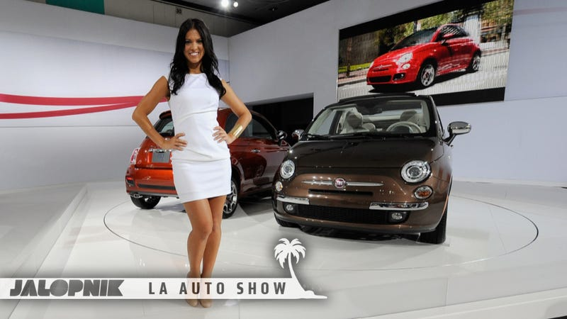 Illustration for article titled Everything You Need To Know About The LA Auto Show — Day Two