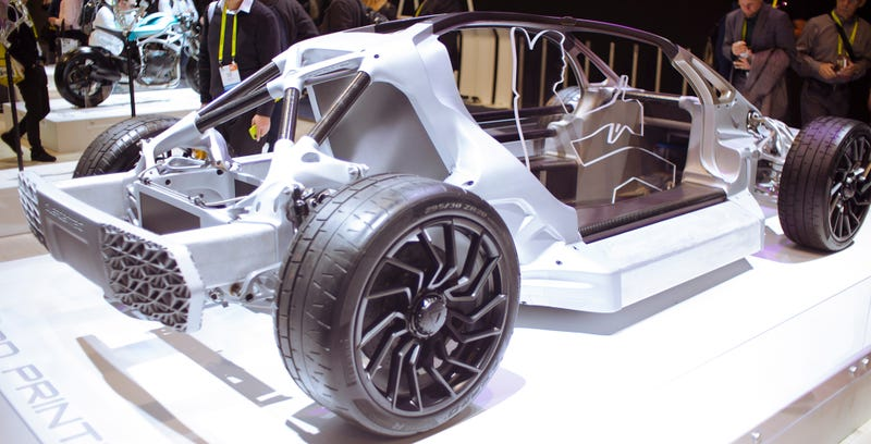 The Divergent 3d Printed Car Is The Only Thing At Ces That