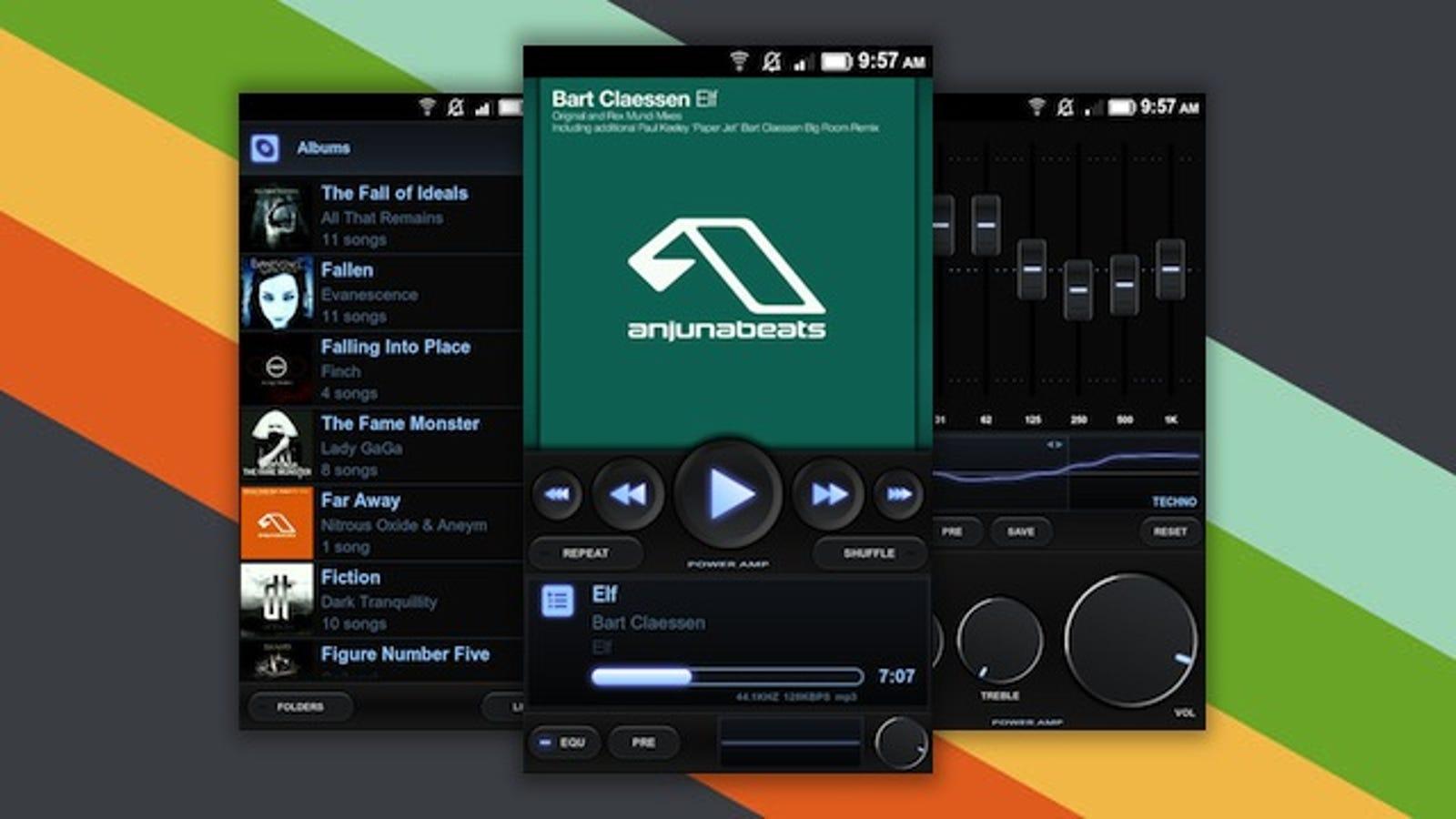 application pour android musique
