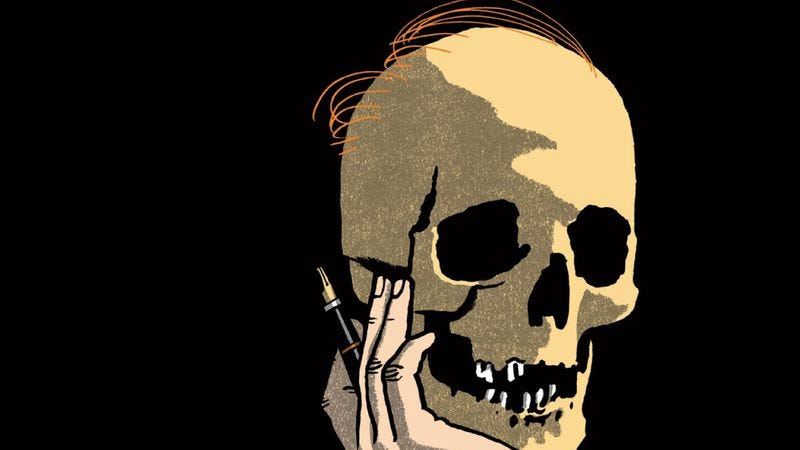 Illustration for article titled Writers imagining interviews with dead cultural icons is nearly a complete disaster