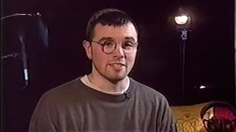 Screenshot: Seth MacFarlane 1999 interview