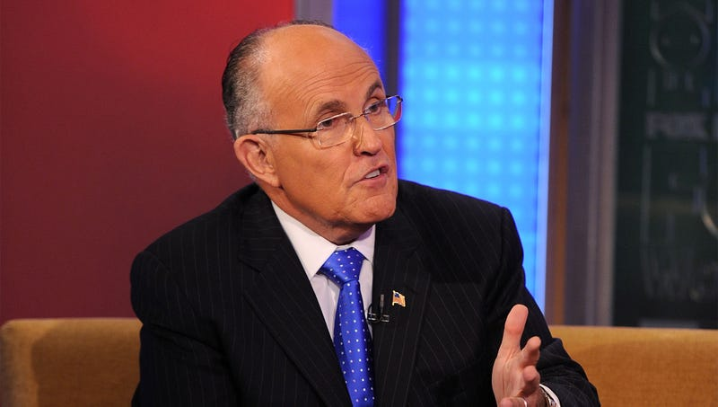 Illustration for article titled Rudy Giuliani Lays Out Legal Framework That Would Keep Him On TV For Next Couple Years