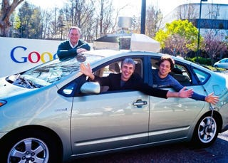 Illustration for article titled Google's Driverless Cars Are Now Legal in Nevada