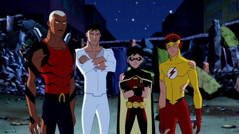 Illustration for article titled Young Justice Photos