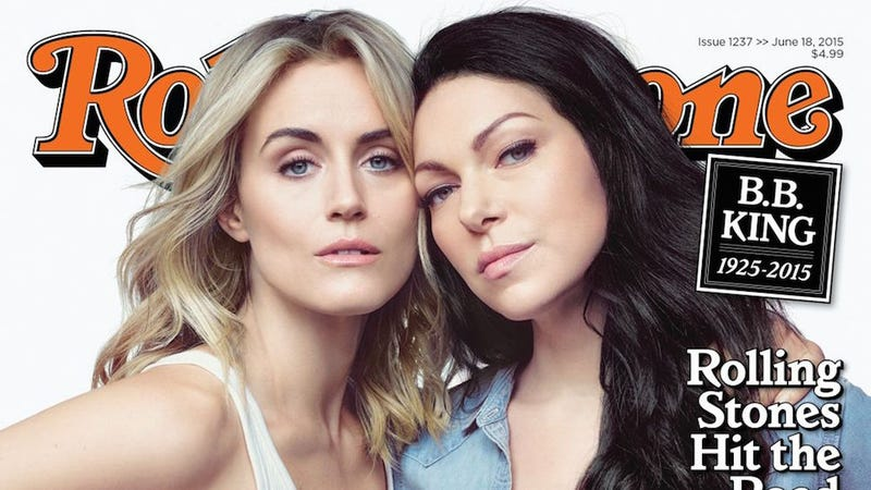 Illustration for article titled Rolling Stone Cover Honors Diverse OITNB Cast With Braless White Ladies