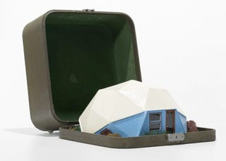 Illustration for article titled In 1960, Traveling Salesmen Were Selling Bucky Fuller's Dome Houses From a Suitcase