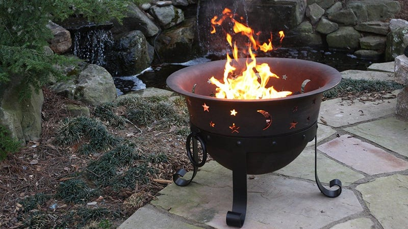 Cast Iron Fire Pit, $120