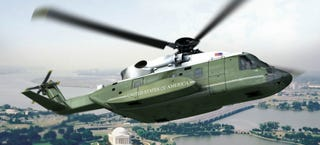 Illustration for article titled This is the new helicopter of the President of the United States