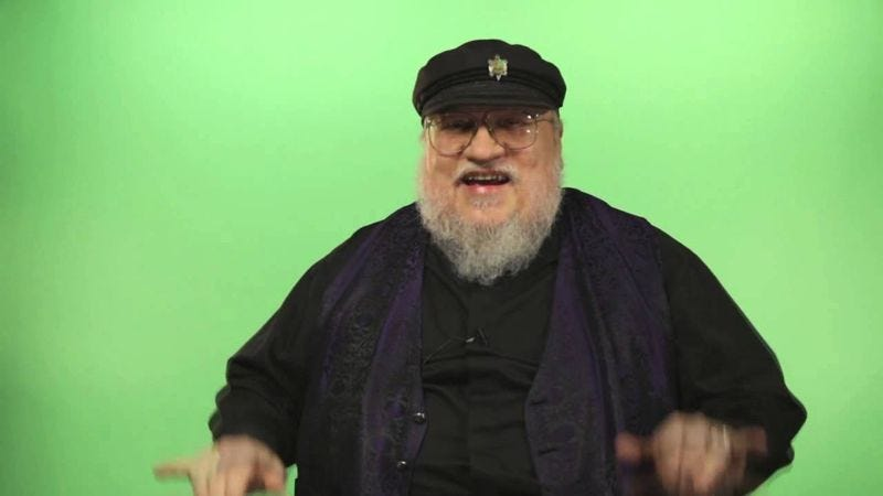 Illustration for article titled You might have to wait for George R.R. Martin to write three more books, actually