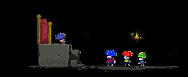 From left to right: King Bodur, Yuppi, Jumpi, Dombi.