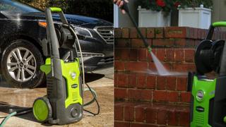 Limpiador a presión GreenWorks, $98