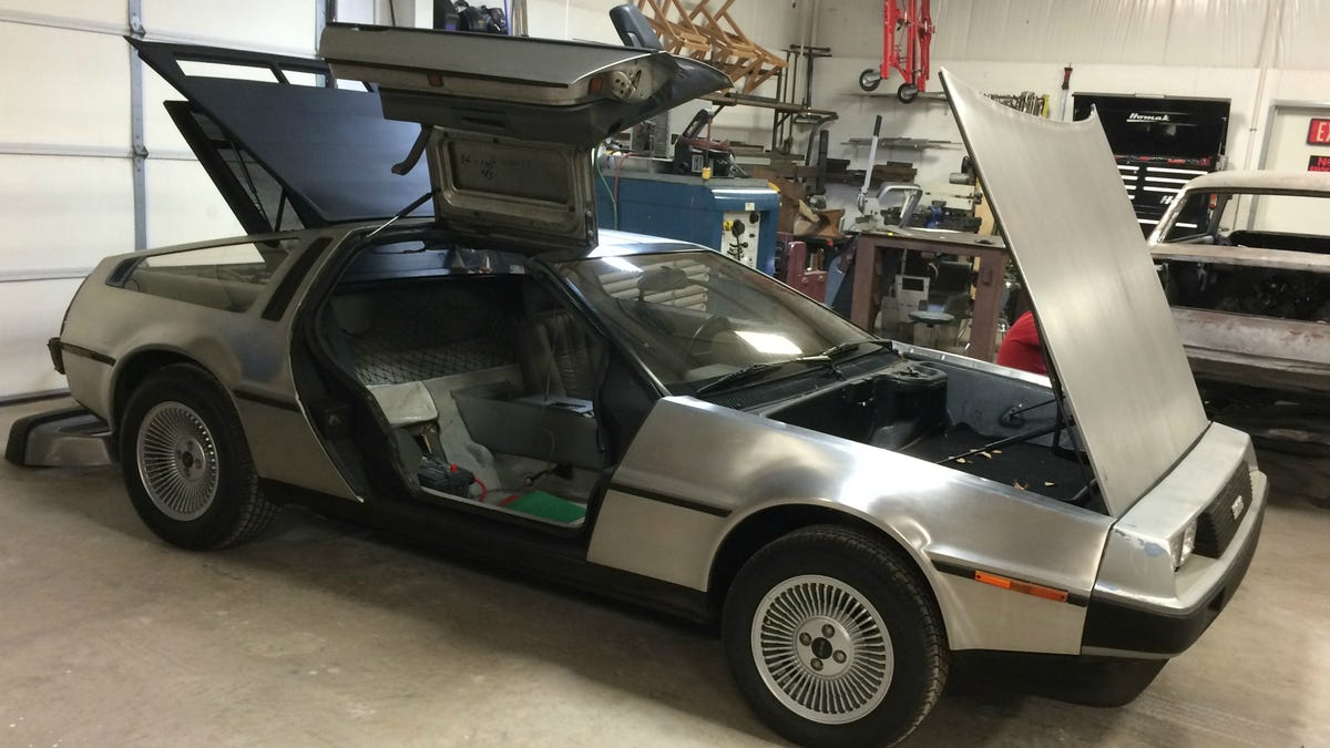 Get Inside This Awesomely Quirky Delorean Dmc 12