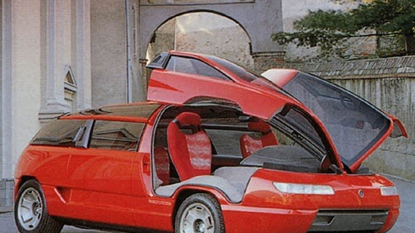 Lamborghini Countach Price >> The Lamborghini-Engined Gullwing Minivan