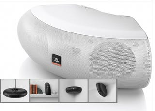 JBL Control Now loudspeakers love donuts. Because since each speaker covers  a 90-degree curve 04a2927ecb5c9