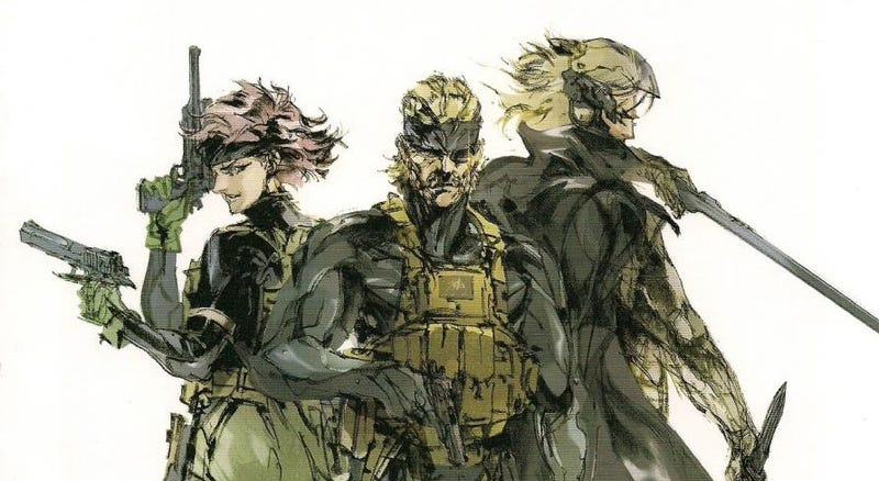 Image from MGS4, but loved how it showed what Raiden would eventually become.
