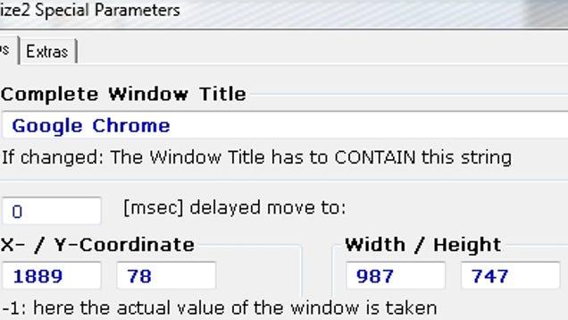 Winsize2 Remembers Your Preferred Window Sizes