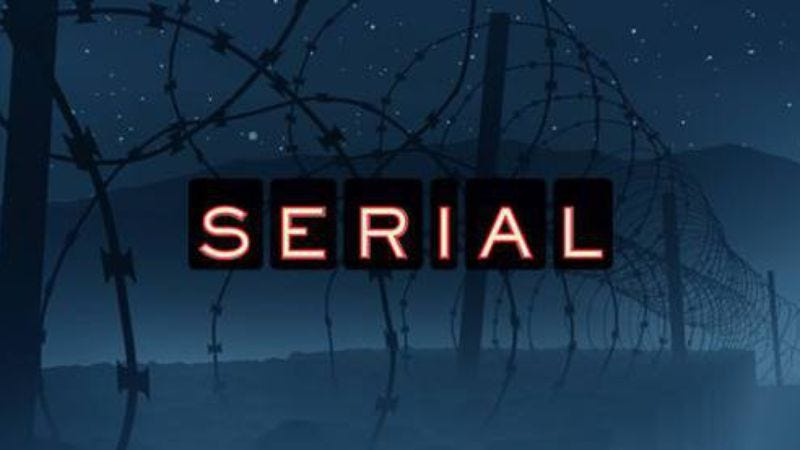 Illustration for article titled The Serial Serial is back, baby