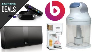 Illustration for article titled Deals: $10 Food Chopper, Ice Cream Maker, 25% off Beats Music