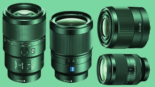Illustration for article titled A Host of Lenses Arrive For Sony's Full Frame A7 Cameras