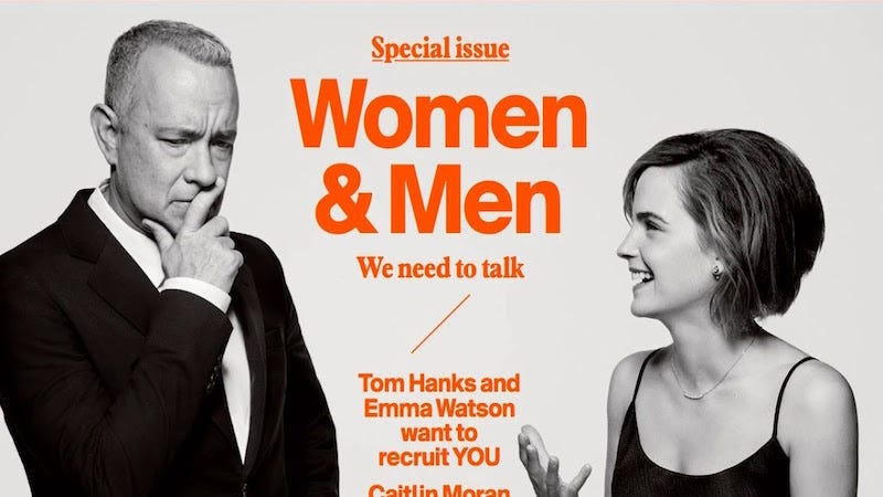 Illustration for article titled Emma Watson Talks Wage Gap, Cover Retouching and Male Feminists inEsquire U.K.