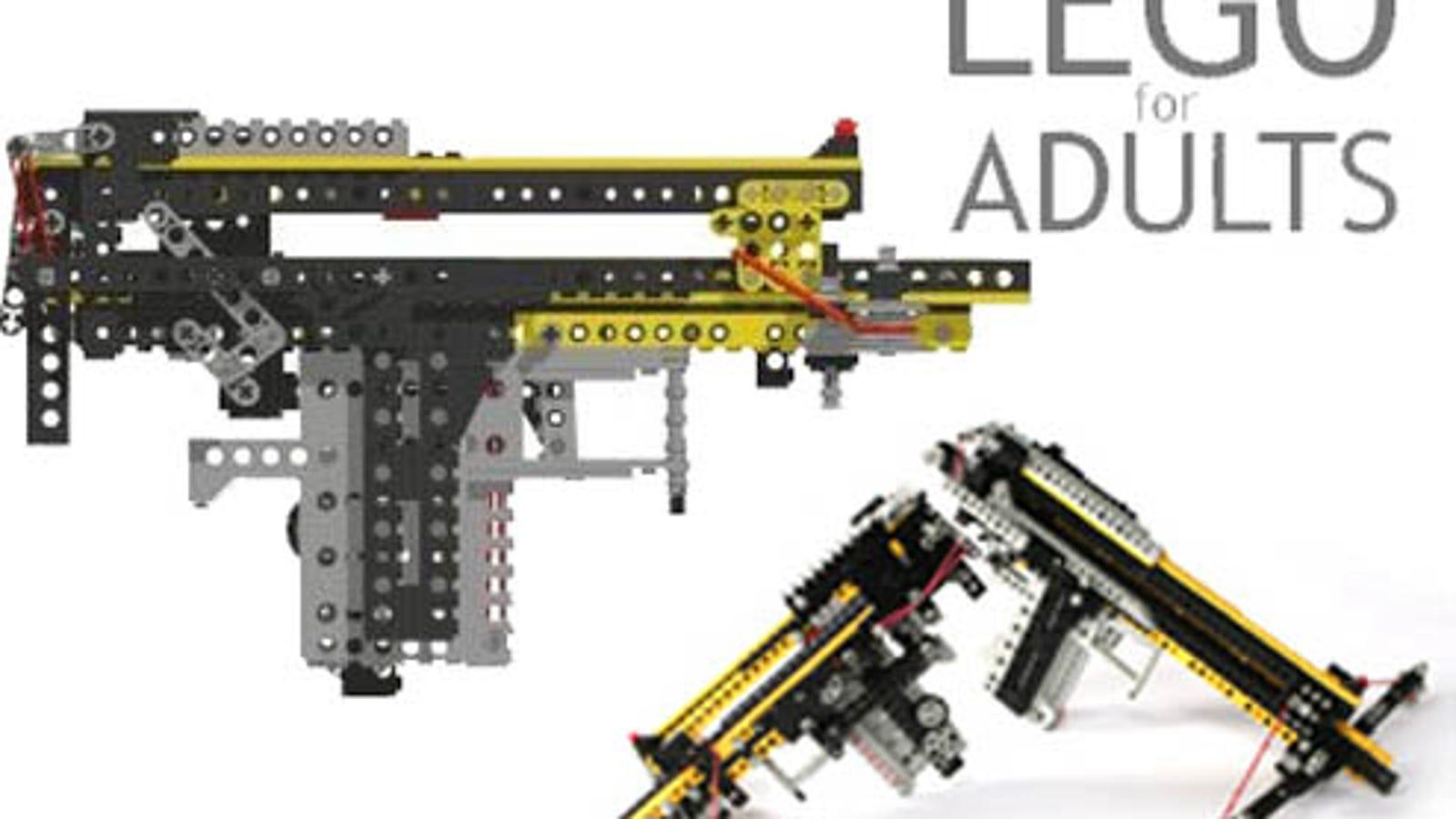 Working Lego Gun Will Make You Shoot Bricks