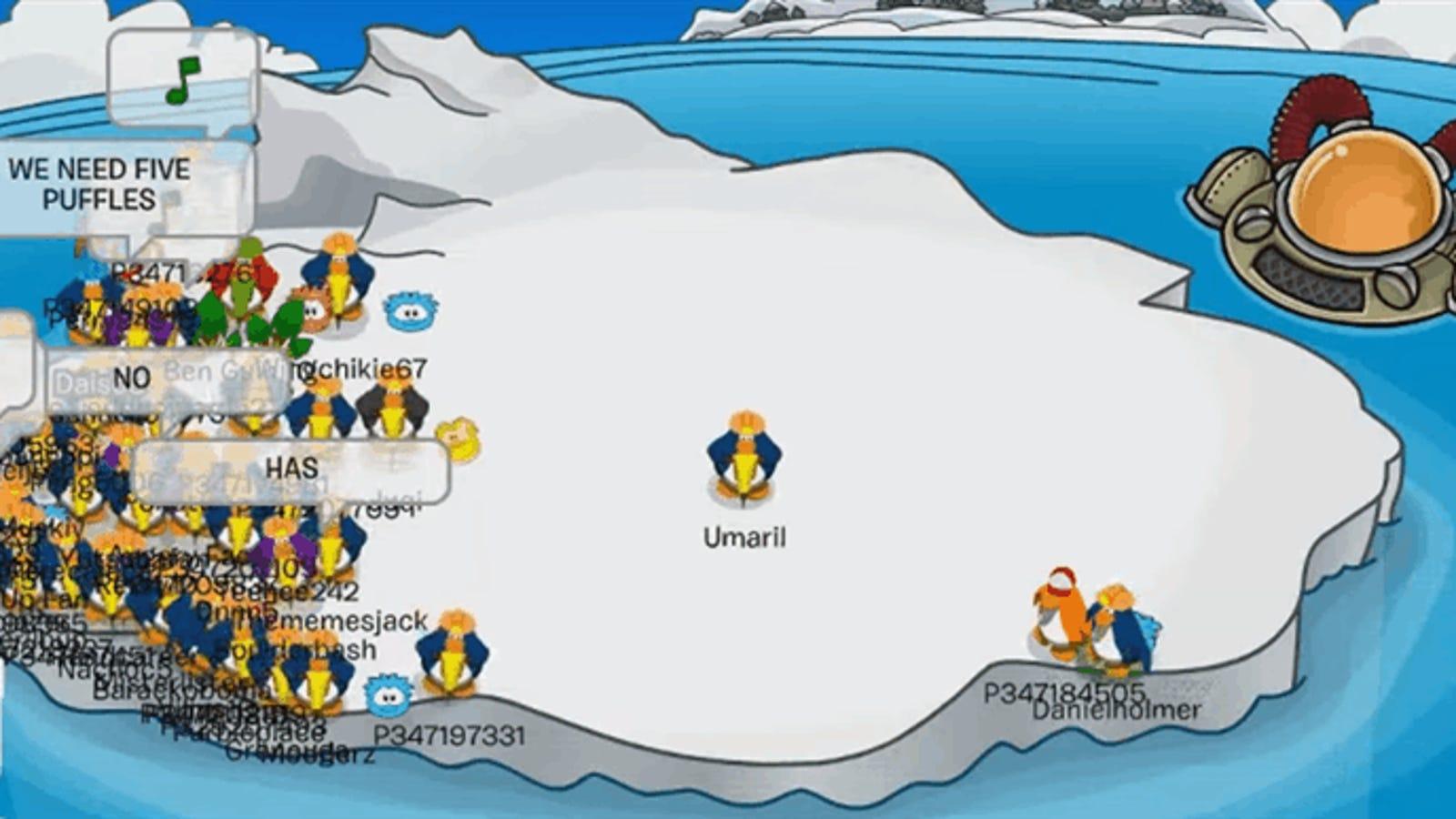 Club Penguin Mmo Island