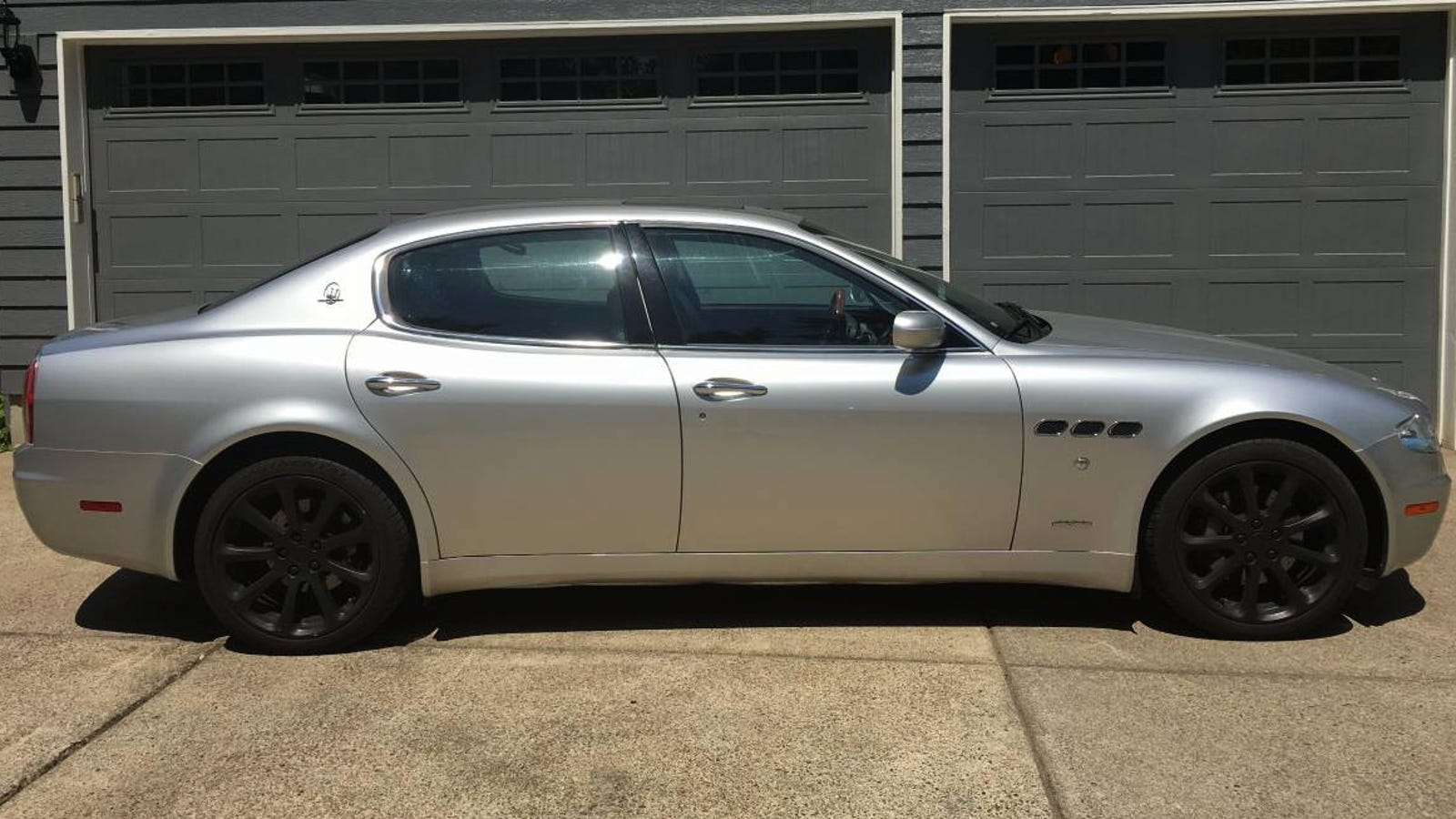 For 17500 Is This 2006 Maserati Quattroporte Worth It The Fuse Box Exhaust Note Alone