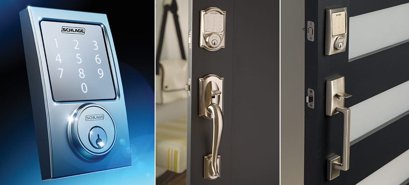 front door locksSchlages Bluetooth Lock Turns Your Smartphone Into Your Front