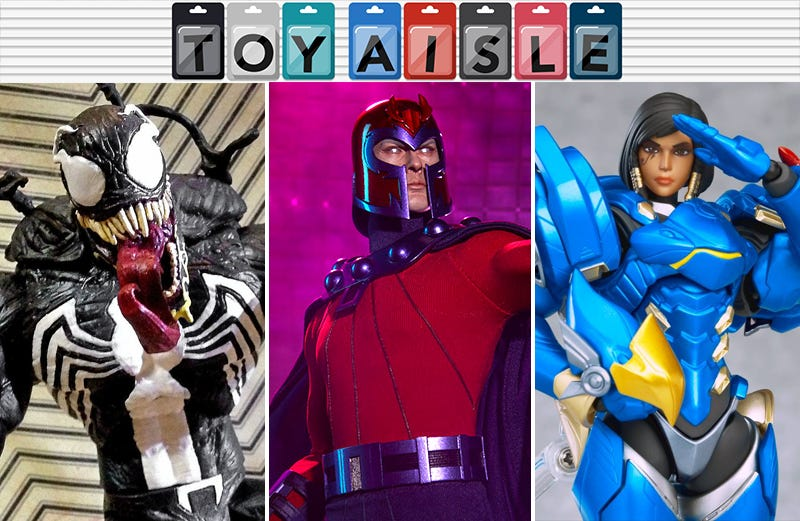 Illustration for article titled Magneto Gets a Gleaming New Figure, and More of the Shiniest Toys of the Week