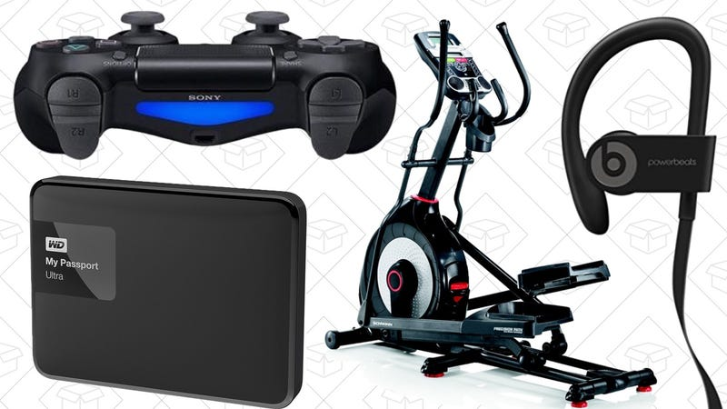 Illustration for article titled The Best New Year's Day Deals: Powerbeats3, Elliptical, DualShock 4, and More
