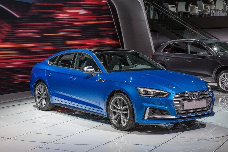 2018 audi s5 sportback.  2018 this whole fourdoor coupe bit by the germans is a silly i know itu0027s  sedan you but since audi wonu0027t sell an avant in  inside 2018 audi s5 sportback