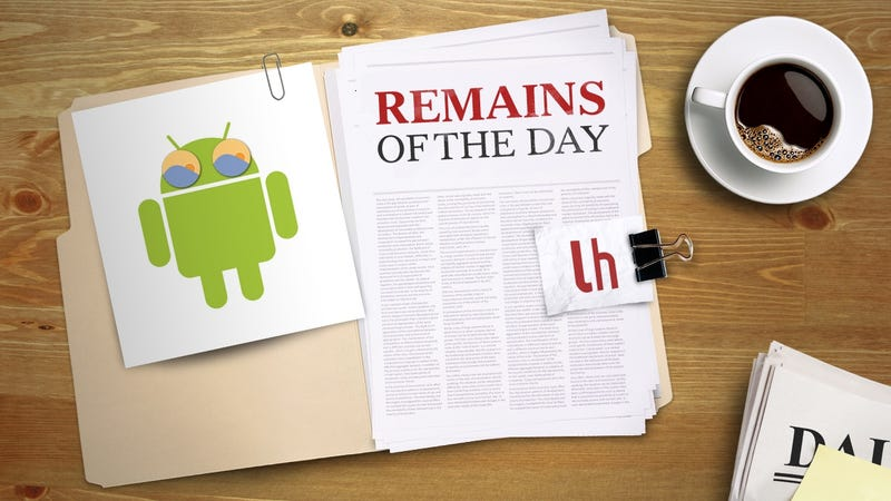 Illustration for article titled Remains of the Day: F.lux Finally in Development for Android