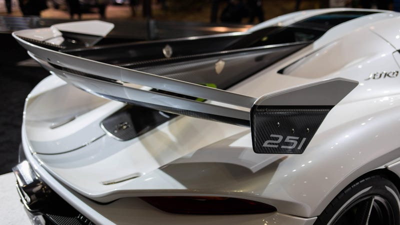The Koenigsegg Jesko's Wing Is Big and Absurd and I'm Obsessed With It