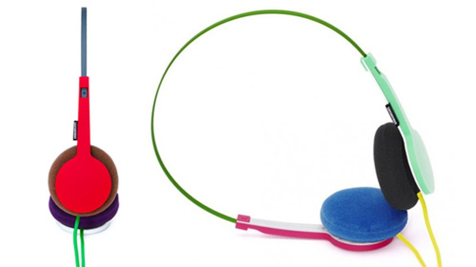 earbuds accessories clip - The '80s Headphones Lucky-Dip