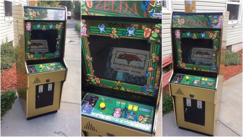 The Zelda Arcade Cabinet We Deserved