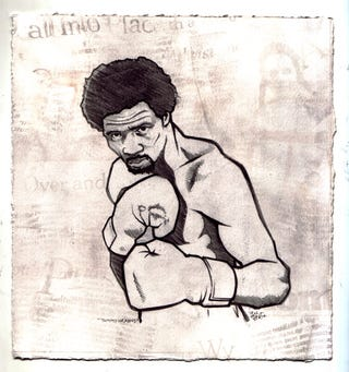 "Illustration for article titled The 10 Saddest Items In Thomas ""Hitman"" Hearns's Police Auction"