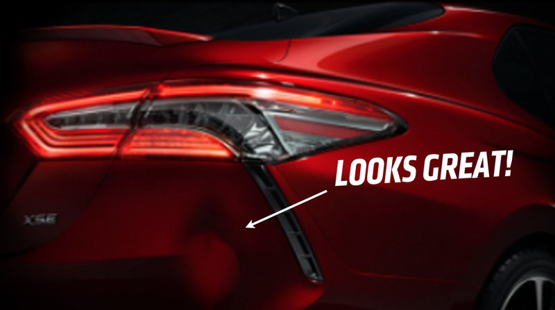 Illustration for article titled Toyota Teases The 2018 Camry Dent