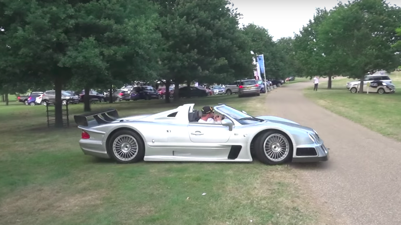 a rally stage the ideal place for a mercedes clk gtr. Black Bedroom Furniture Sets. Home Design Ideas